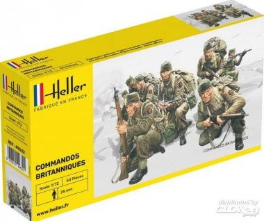 Heller 49632 Britische Kommandotruppen