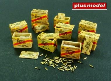 plusmodel AL4083 US ammunition boxes for cartridges