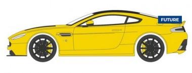 Oxford 43AMVT003 Aston Martin Vantage S Sunburst Yellow