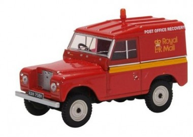 Oxford 43LR2AS002 Land Rover Series IIA SWB Hard Top Royal