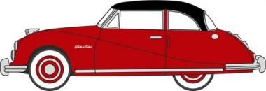 Oxford 76ATL005 Austin Atlantic Saloon Ensign Red