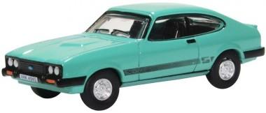 Oxford 76CAP009 Ford Capri MkIII Peppermint Sea Green