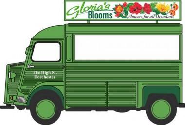 Oxford 76CIT004 Citroen H Catering Van Glorias Blooms