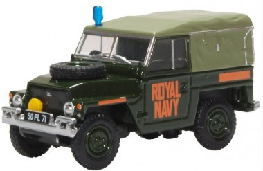 Oxford 76LRL009 Royal Navy Land Rover Lightweight