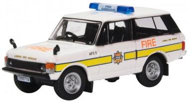 Oxford 76RCL004 Range Rover Classic London Fire Brigade