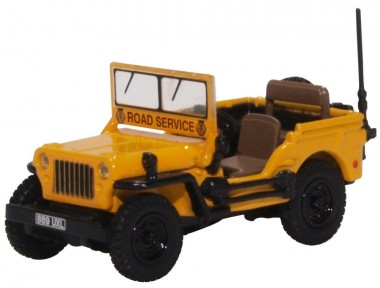 Oxford 76WMB005 Willys MB AA