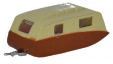 Oxford NCV003 Wohnwagen cream/braun