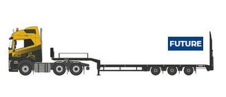 Oxford NVOL4009 Volvo FH4 Semi Low Loader G F Job