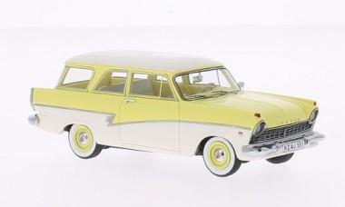 NEO NEO44551 Ford Taunus (P2) Turnier gelb weiß