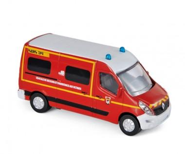 Norev 310806 Renault Master Pompiers 2014