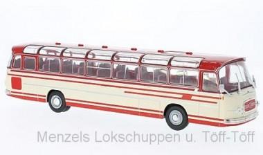 IXO Modelle BUS009 Setra S14 Reisebus beige/rot 1966