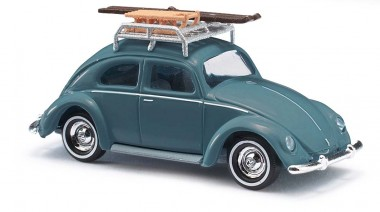 Busch Autos 42734 VW Brezelkäfer mit Gepäckträger
