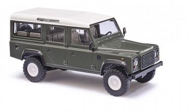 Busch Autos 50301 Land Rover Defender 110 Keswick Green