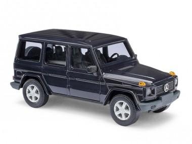 Busch Autos 51401 MB G-Modell (W463) blau 1990