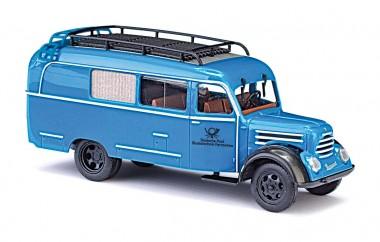 Busch Autos 51864 Robur Garant K30 Halbbus Blaue Post