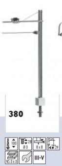 Sommerfeldt 380 RhB Streckenmast