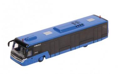 NZG 981-20 COBUS 3000 Flughafenbus blau