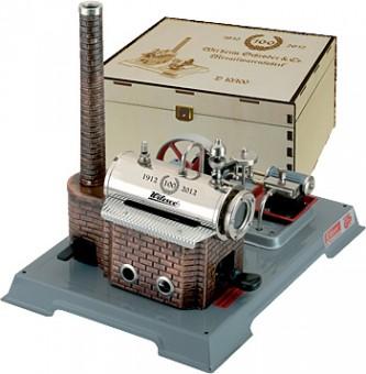Wilesco 00010-100 D10/100 Dampfmaschine 100 Jahre