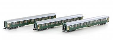 Kato 23011 SBB Personenwagen-Set 2.Kl. 3-tlg Ep.5