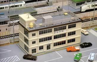 Kato Noch 74929 Fabrikgebäude 3-stöckig