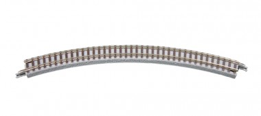 Rokuhan 97002 Gleis gebogen R195 45°