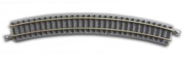 Rokuhan 97033 Gleis gebogen R220 30° 6 St.