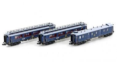 Hobbytrain 22106 CIWL Personenwagen-Set 3-tlg Set 2 Ep.2