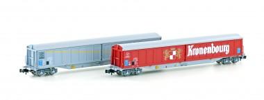 Hobbytrain 23470 SNCF Schiebewandwagen Set 2-tlg.Ep. 4/5