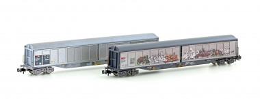 Hobbytrain 23471 SBB Schiebewandwagen Set 2-tlg. Ep.5