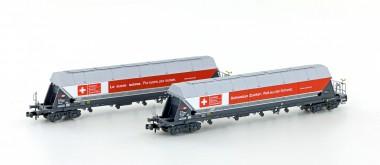 Hobbytrain 23475 SBB Silowagen Set 2-tlg. Ep.6