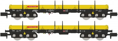 Hobbytrain 23878 DB Niederbordwagen Set 2-tlg. Ep.5/6