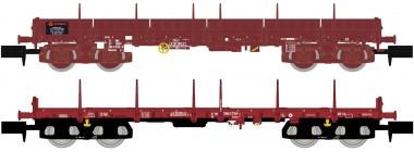 Hobbytrain 23883 SNCF Rungenwagen Set 2-tlg. Ep.5/6