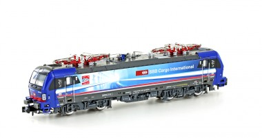 Hobbytrain 3012 SBB Cargo E-Lok BR 193 Alppiercer Ep.6