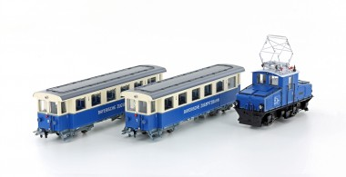 Hobbytrain 43106 Zugspitzbahn Personenzug 3-tlg. Ep.5