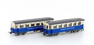Hobbytrain 43107 Zugspitzbahn Personenwg. Set 2-tlg Ep. 5