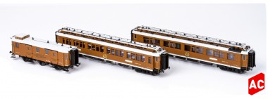 Hobbytrain 44016 CIWL Personenwagen-Set 3-tlg. Ep.1 AC