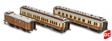 Hobbytrain 44019 CIWL Personenwagen-Set 3-tlg. Ep.1