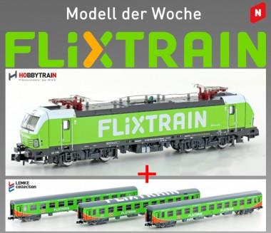 Hobbytrain 95002-L FLIXTRAIN Ergänzungs-Set 4-tlg Ep.6