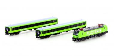 Hobbytrain 95005S Flixtrain Zug-Set 3-tlg Ep.6
