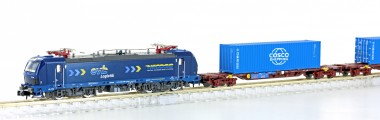 Hobbytrain 96004S EVB Containerzug 3-tlg Ep.6
