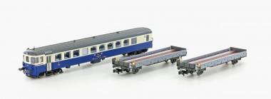 Hobbytrain 96009 BLS Autoverladezug-Set 3-tlg Ep.4