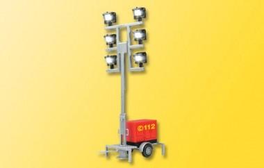 Viessmann 1344 LED Leuchtgiraffe FW auf Anhänger