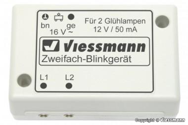 Viessmann 5027 Zweifach Blinkgerät mit zwei Glühlampen