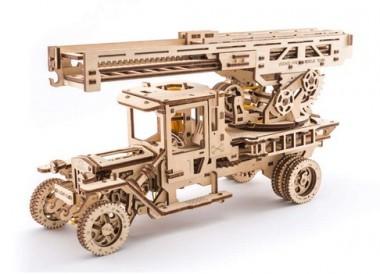 Ugears Mechanical 70022 UGEARS Feuerwehrdrehleiter