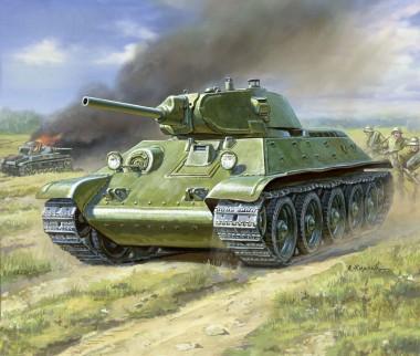 Zvezda 786101 Wargame Add-On T34/76 Panzer