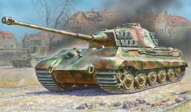 Zvezda 786204 Sd.Kfz.182 King Tiger Henschel