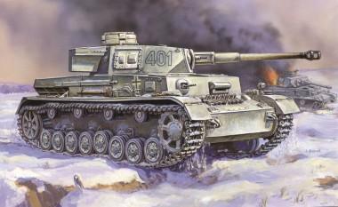 Zvezda 786251 Panzer IV Ausf. H Add-On