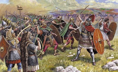 Zvezda 788052 Römer Inf. /  Roman Auxiliary Infantry