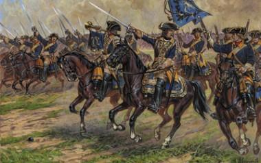 Zvezda 788057 Swedish Dragoons 17-18th cty
