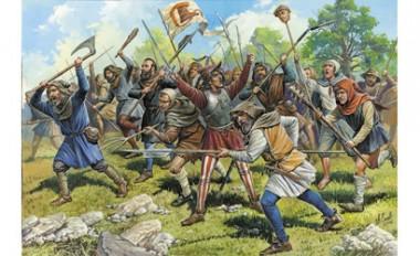 Zvezda 788059 Medieval Peasant Army